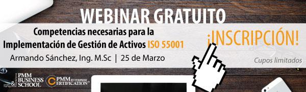 Webinar gratuito Certificacion ISO 55001